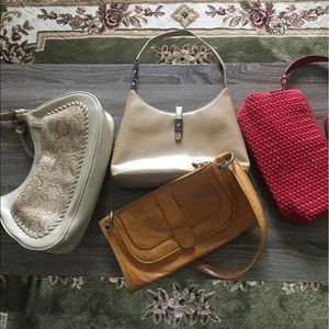 Lot of 4 smaller purses.